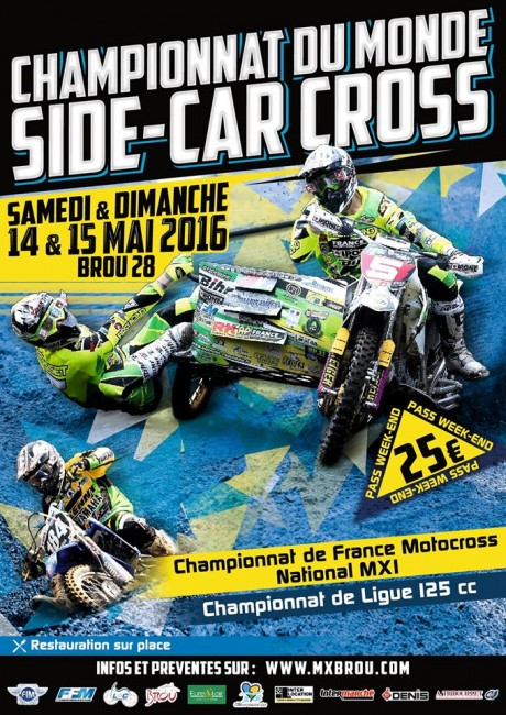 GP de Brou SIde-car cross