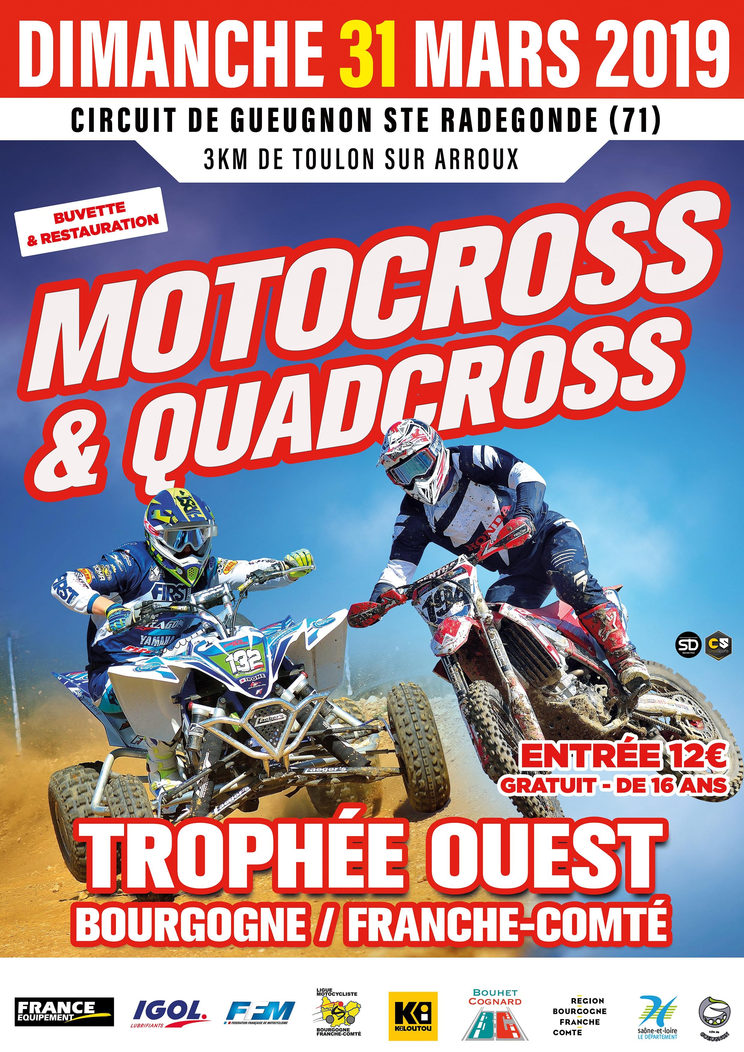 Trophée Bourgogne Franche Comté Ouest 31 Mars 2019   MotoClub